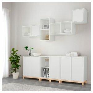 Белая мебель из IKEA: ТОП-130 фото и видео вариантов белой мебели из IKEA. Особенности белого цвета, виды материалов и обивки