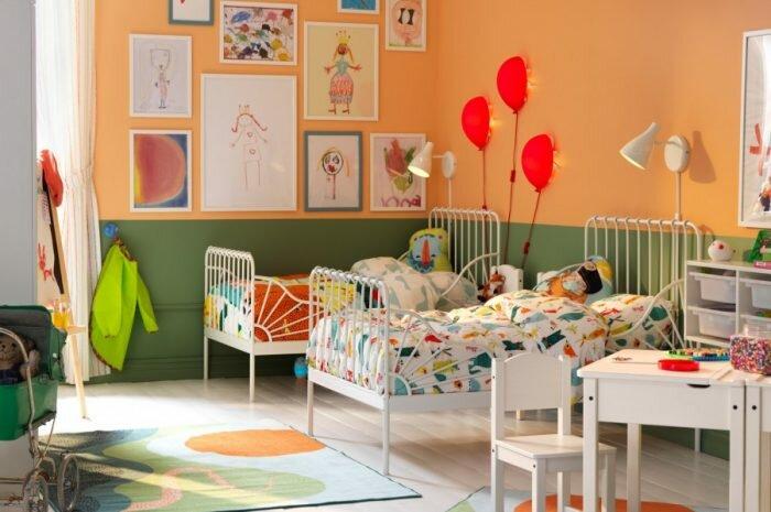Детская комната для разнополых детей: идеальные сочетания и самые красивые идеи дизайна (165 фото + видео)