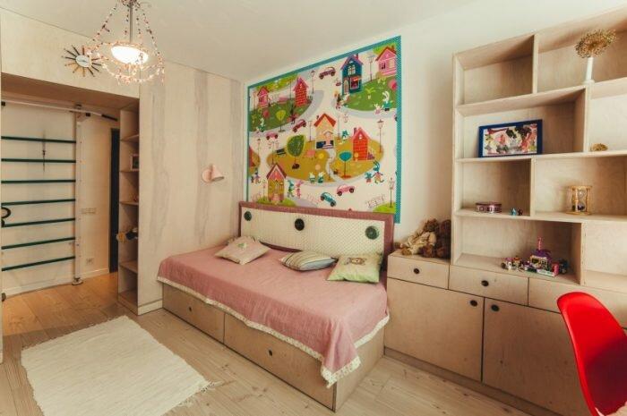 Детская комната в квартире: ТОП-190 фото и видео идей дизайна детской комнаты. Цветовые решения, подбор мебели, настройка освещения