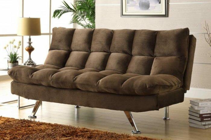 Диван клик-кляк: особенности конструкции, плюсы и минусы. Функции и варианты положения дивана. Правильная эксплуатация и уход (фото + видео)