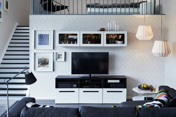 Интерьеры в IKEA: отличительные черты бренда. Цветовые решения для разных комнат. Настройка освещения и подбор мебели IKEA (фото + видео)