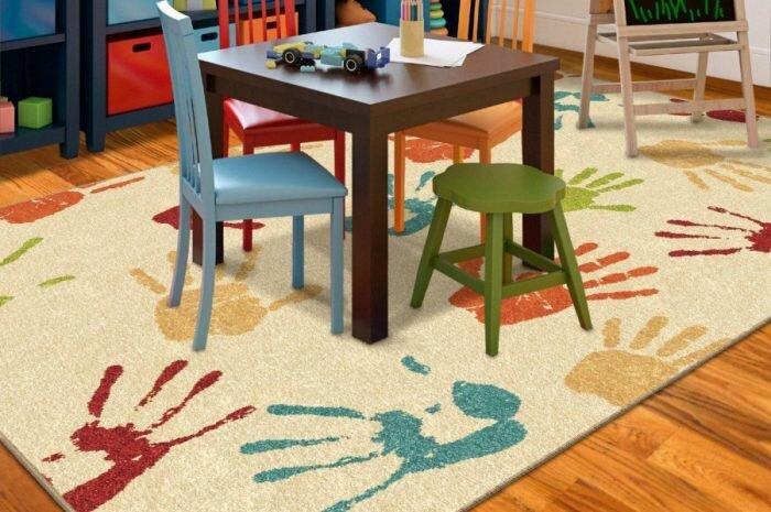 Ковер в детскую комнату — 155 фото вариантов утепления детской при помощи ковровых покрытий