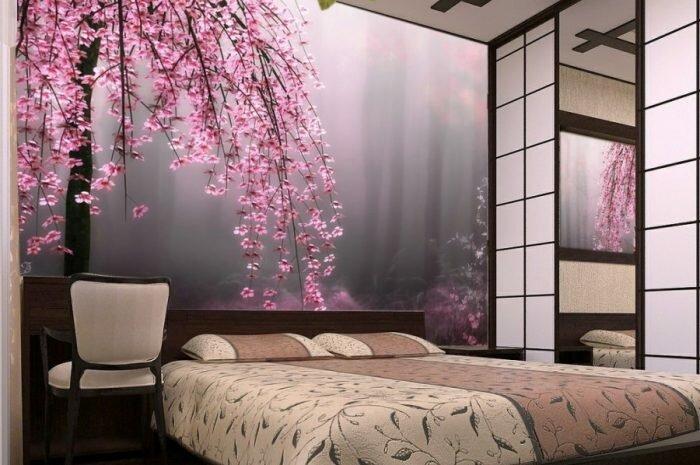 Обои для спальни: ТОП-140 фото и видео-обзоры дизайнов спальни с обоями. Подходящие стили, расцветки и узоры обоев для спальни, выбор материалов