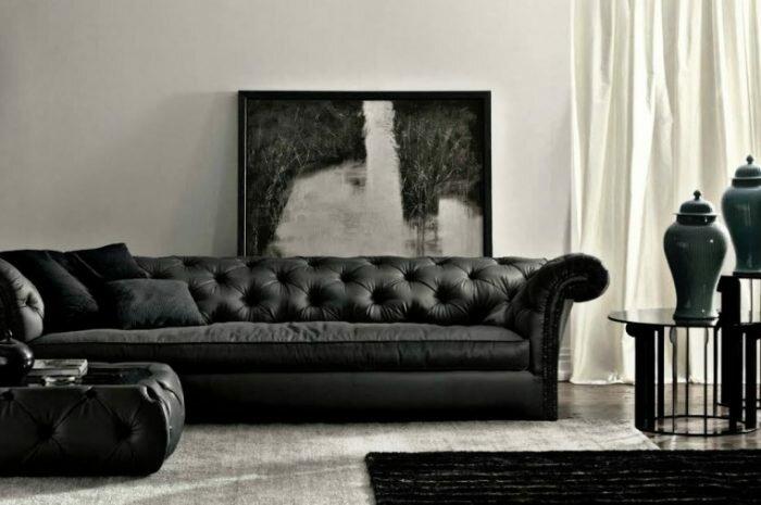 Темный диван: преимущества и недостатки темных диванов. Особенности выбора темных оттенков дивана для разных стилей (фото + видео)